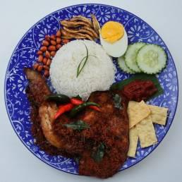 Nasi Lemak Basmathi Ayam Berempah
